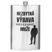Flask MAXI - stainless steel 1,7l, 0/20A