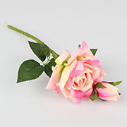 ae Artificial rose with bud 36/360