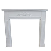 cr Wooden fireplace frame, 0/1