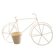 Metal wall flowerpot cover - bycicle 0/6