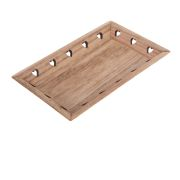 *2h Wooden tray, 0/96