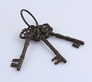 dd Cast iron keys 6/48