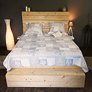 Bed set: bed cover + 2x cushion cover0/6
