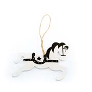 b Hanging wooden horse 24/576